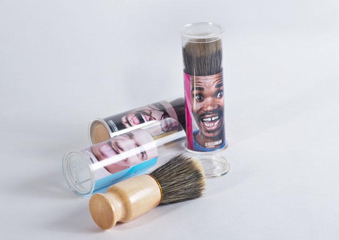 Brushman Shaving Brush Package