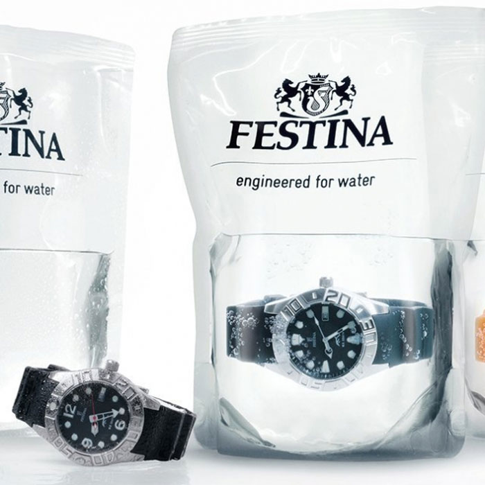 Festina Watches - Divers Watch in Water Packaging
