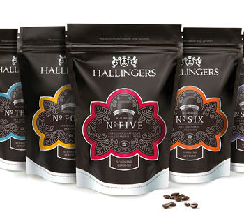 Hallingers Tea & Coffee Packaging