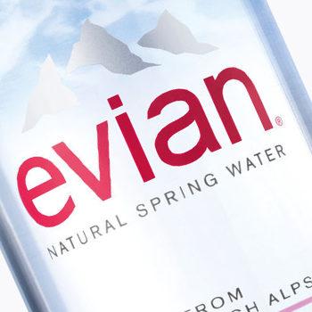 Evian Debuts New Bottle