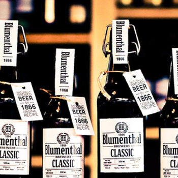 Concept: Blumenthal Classic Beer - 1866