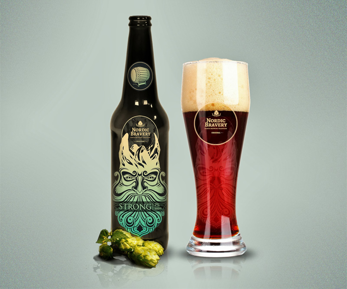 Nordic Bravery Beer