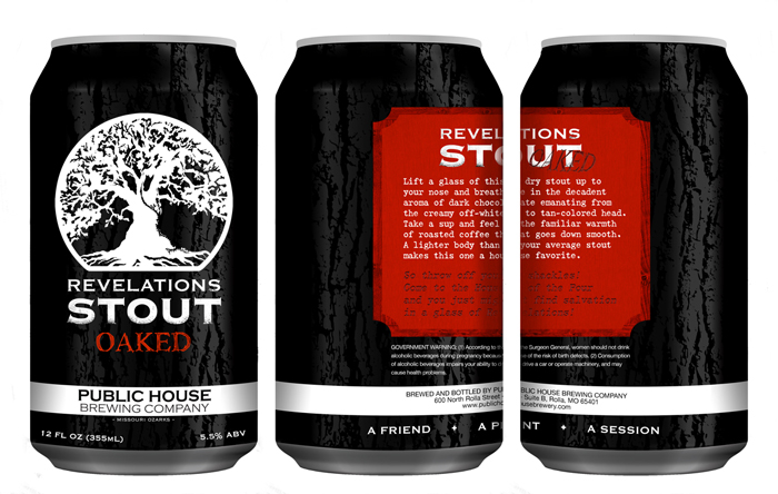 Public House Brewing Co. Can Design