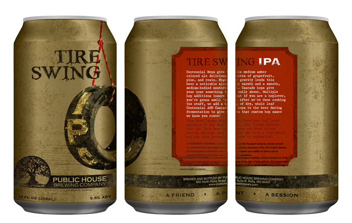 Public House Brewing Co. Can Design4