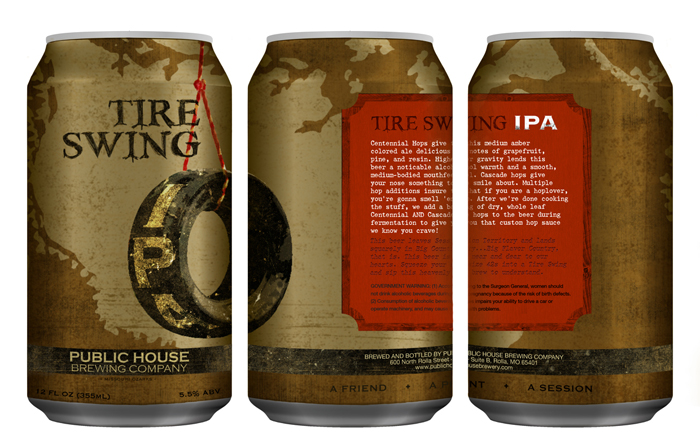 Public House Brewing Co. Can Design5