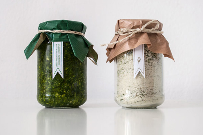 Wild Garlic Salt & Pesto11