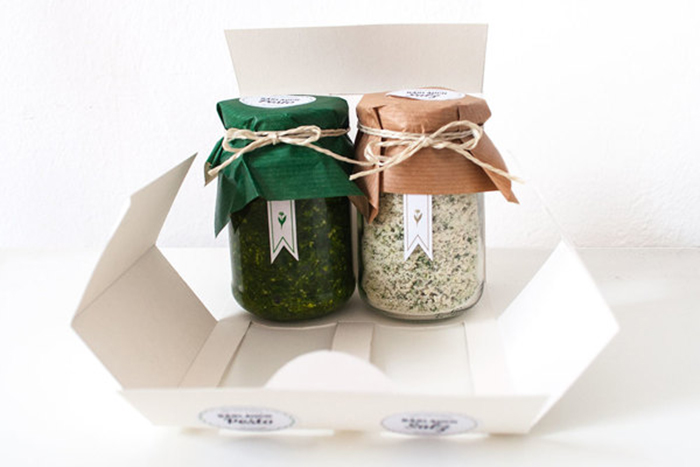 Wild Garlic Salt & Pesto9