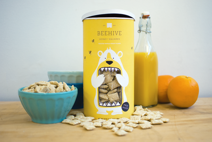 Beehive Honey Squares2