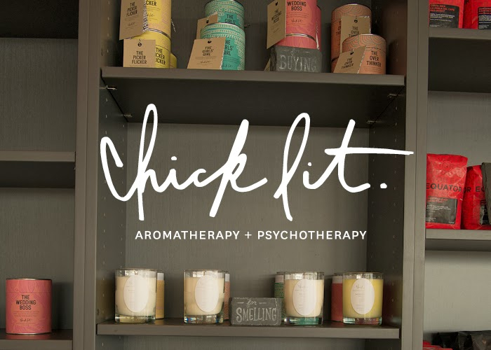 Chick Lit Candles