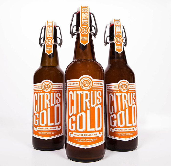 Citrus Gold Beer
