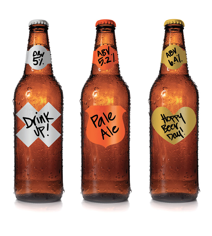 Garage Monk Naked Labels