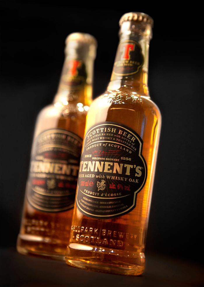 Tennents Whisky Oak Aged Beer2