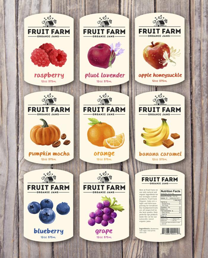 Fruit Farm Organic Jams21