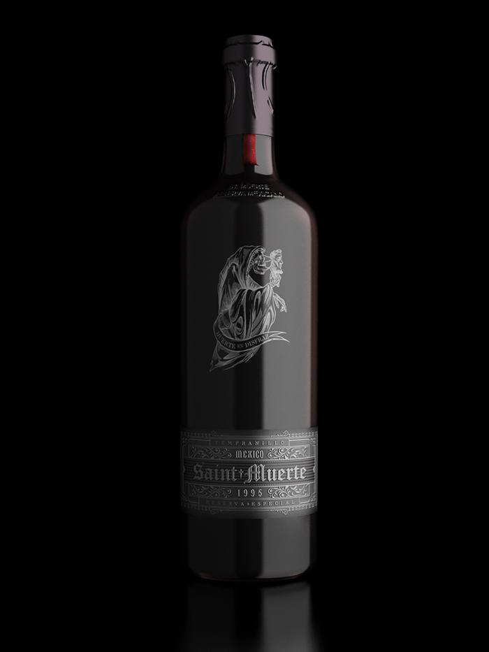 Saint Muerte Wine2