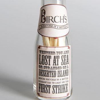 Birch's Matches