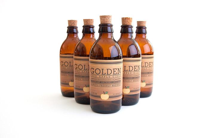 Golden Hard Apple Cider2