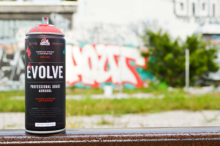 EVOLVE SPRAY PAINT10