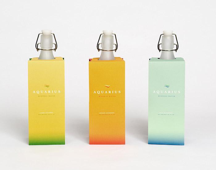 Aquarius Mineral Water