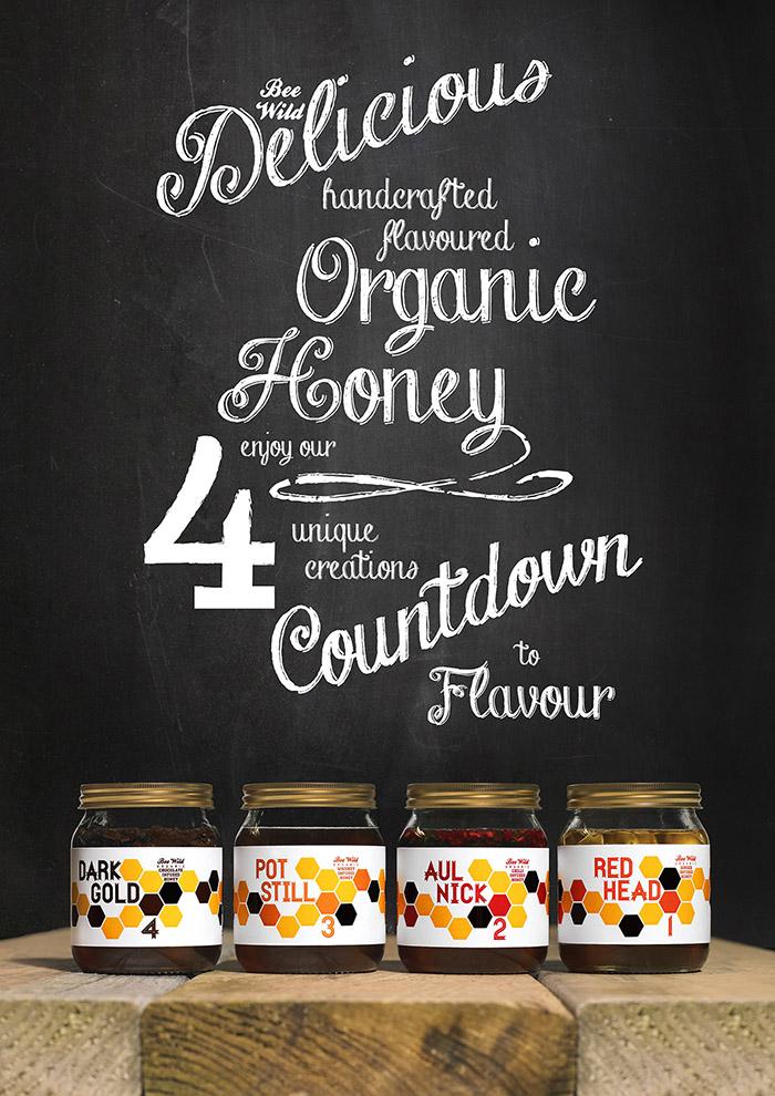 Bee Wild Honey Labels