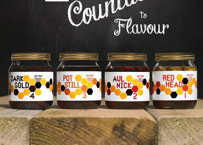 Bee Wild Honey Labels3