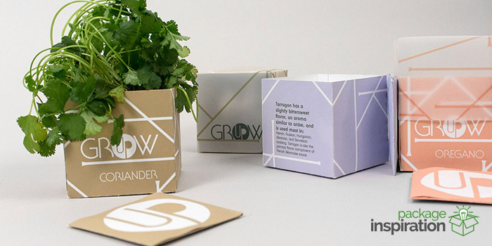 Grow Up Herb Growing Kits Food Gourmet Home Garden Package Inspiration