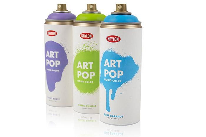 """Krylon """"Art Pop"""" Spray Paint2"""