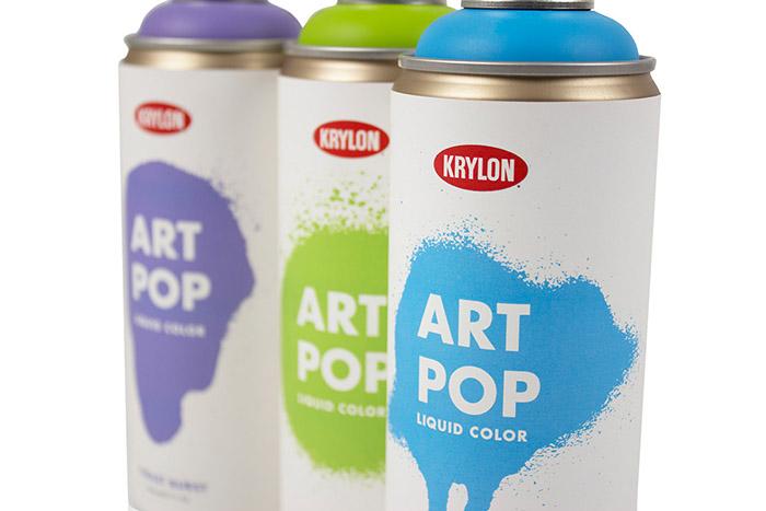 """Krylon """"Art Pop"""" Spray Paint3"""