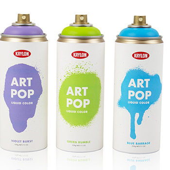 "Krylon ""Art Pop"" Spray Paint"