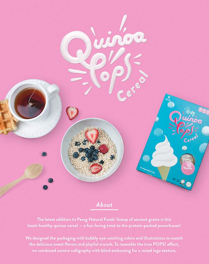 Pereg Quinoa Pops
