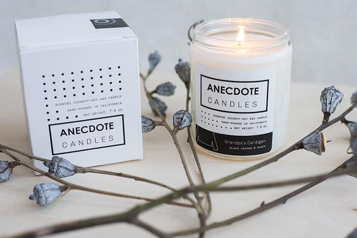 Anecdote Candles5