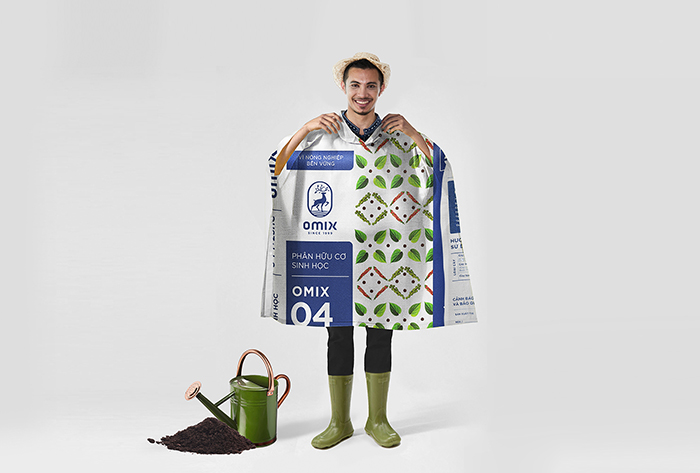 recycle raincoat