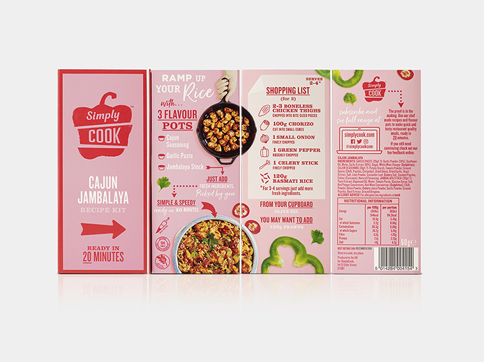 Simply Cook, Cajun Jambalaya, Group