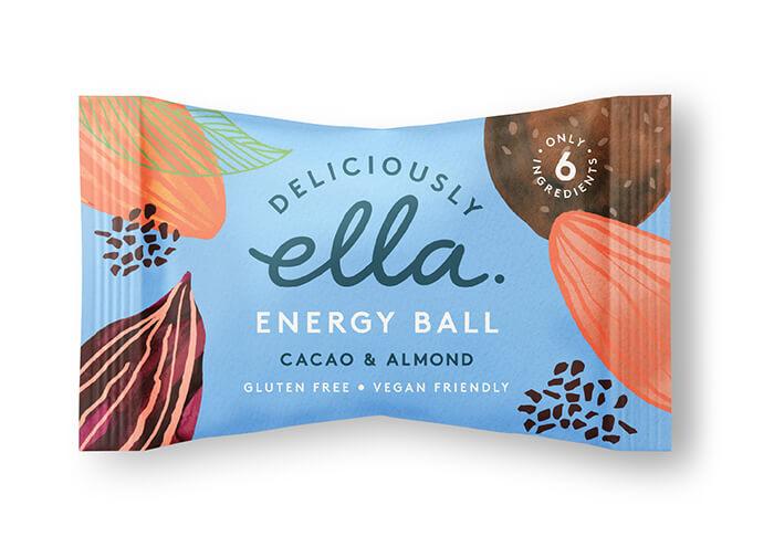 Here Design, Deliciouly Ella - ENERGY BALL_Cacao&AlmondHR
