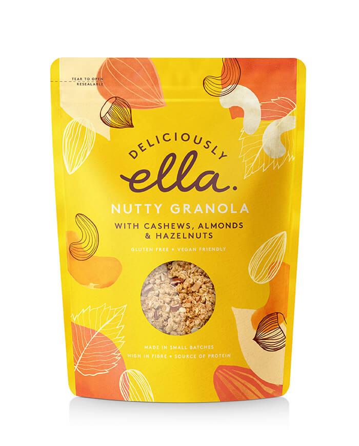 Here Design, Deliciouly Ella - Nutty Granola cerealHR