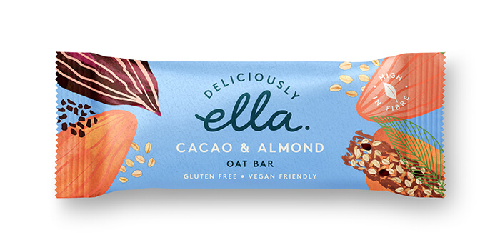 Here Design, Deliciouly Ella - OAT BAR_Cacao&AlmondHR